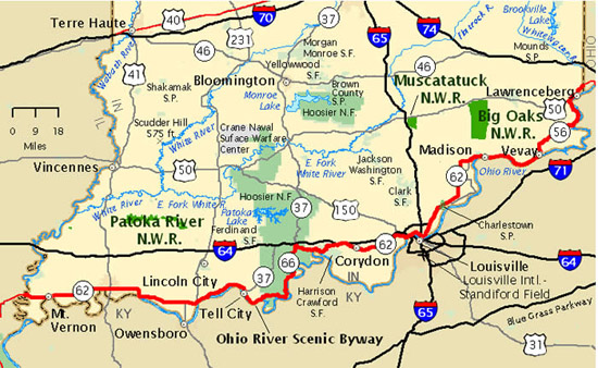 Maps | Ohio River Scenic Byway